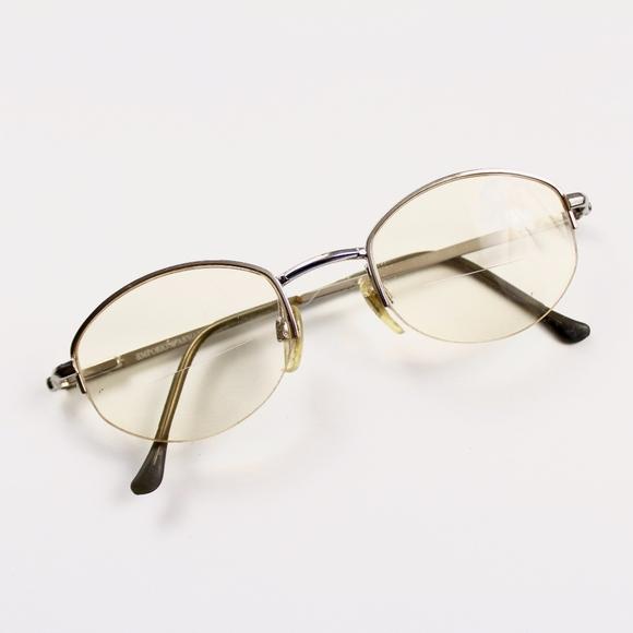Emporio Armani Accessories - Emporio Armani 080 707 Metal Semi Rimless Frames